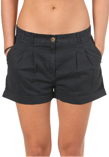 forvert dana chino shorts f r damen blau planet sports. Black Bedroom Furniture Sets. Home Design Ideas