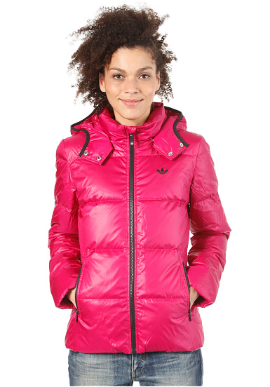 ADIDAS Down Jacket - Jacket for Women - Pink - Planet Sports