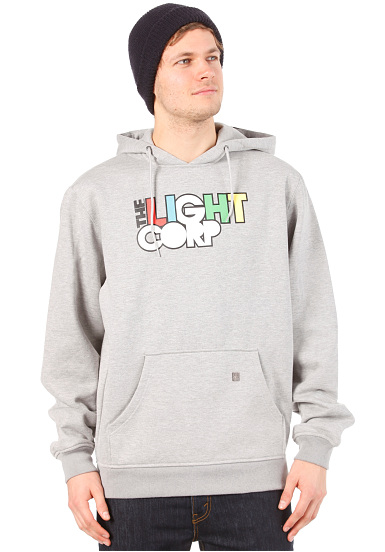 Light Log Hooded Sweat 2013 - Jersey de capucha para Hombres - Gris
