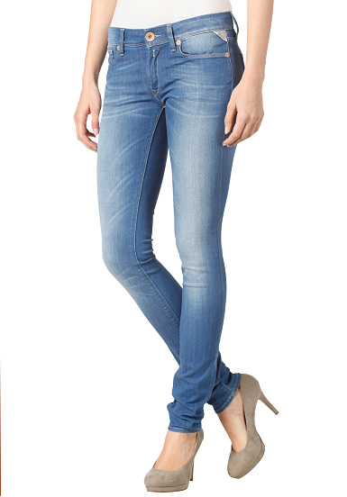 Replay Luz Skinny Fit Jeans Pant - Denim Jeans for Women - Blue