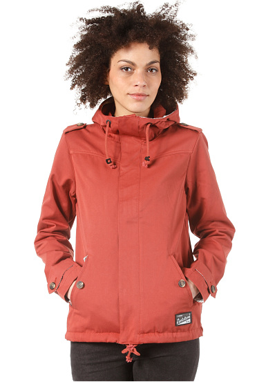 zimtstern cider jacket jacke f r damen rot planet sports. Black Bedroom Furniture Sets. Home Design Ideas