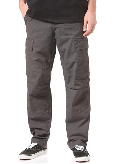 carhartt wip regular cargo pantalon cargo pour homme gris planet sports. Black Bedroom Furniture Sets. Home Design Ideas