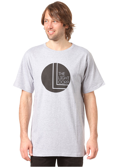 Light Black Dot - Camiseta para Hombres - Gris
