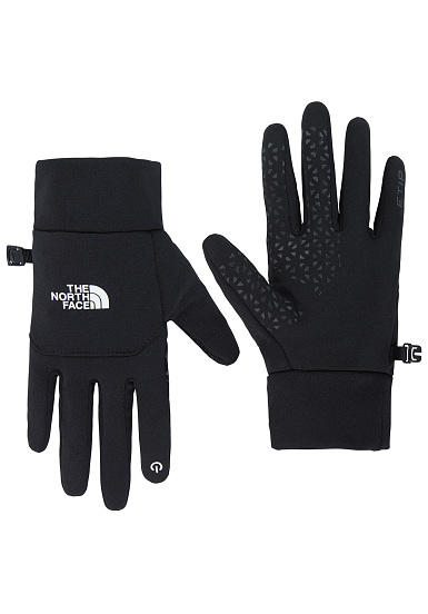 the north face etip gants noir planet sports. Black Bedroom Furniture Sets. Home Design Ideas
