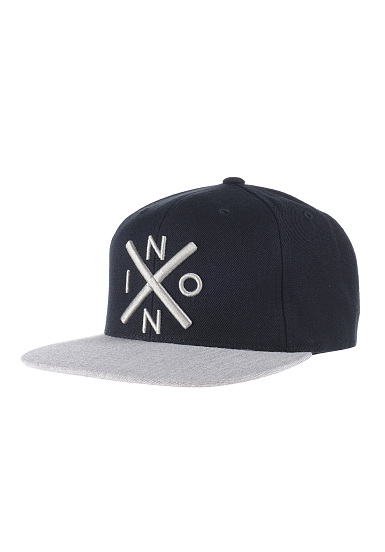 NIXON Exchange - Snapback Cap - Black - Planet Sports 8969007f65a1