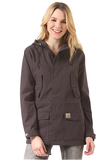 carhartt wip x 39 battle jacke f r damen grau planet sports. Black Bedroom Furniture Sets. Home Design Ideas