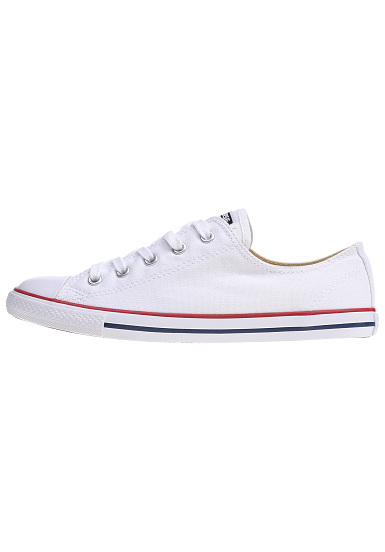 c1f1ce7f07f621 Converse Chuck Taylor Dainty Ox - Sneakers for Women - White - Planet Sports