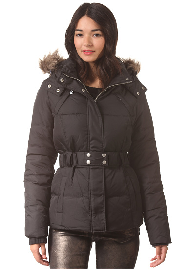 Vila joela down jacket black