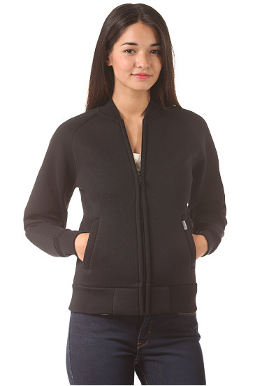 carhartt wip x 39 car lux bomber jacke f r damen schwarz planet sports. Black Bedroom Furniture Sets. Home Design Ideas