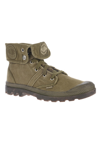 PALLADIUM Pallabrouse Baggy - Boots for Men - Green - Planet Sports ad5d7d8861
