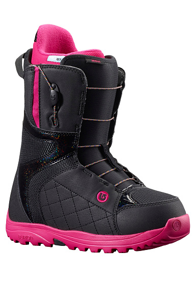 burton mint boots de snowboard pour femme noir planet sports. Black Bedroom Furniture Sets. Home Design Ideas