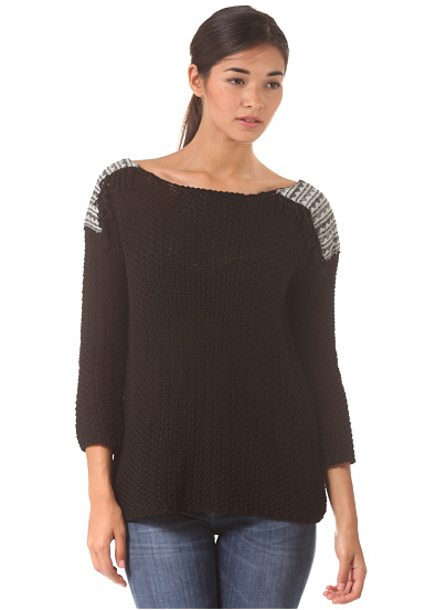 BILLABONG Sandy Kisses Jersey para Mujeres Negro