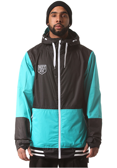 neff destroyer 2 snowboardjacke f r herren schwarz planet sports. Black Bedroom Furniture Sets. Home Design Ideas