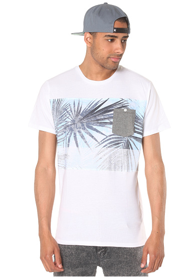 Billabong palmdale t shirt for men white planet sports for T shirt printing in palmdale ca