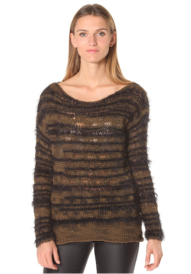 Rich & Royal 53q158 - Jersey para Mujeres - Beige