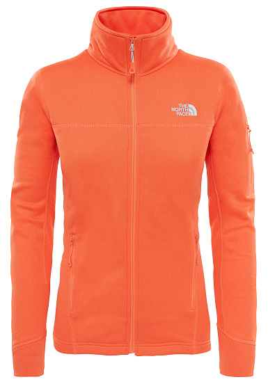 The North Face Kyoshi Fleece Jacket For Women Orange Planet Sports