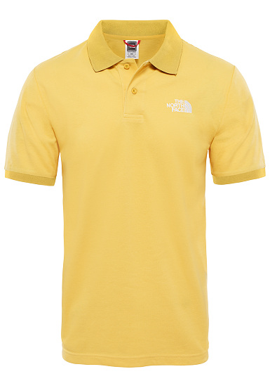THE NORTH FACE Piquet - Polo para Hombres - Amarillo