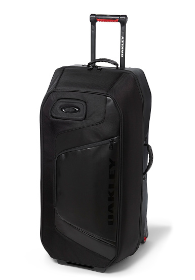 oakley motion 115l roller sac de voyage pour homme noir planet sports. Black Bedroom Furniture Sets. Home Design Ideas