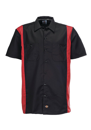 Dickies Two Tone Work - Camisa para Hombres - Negro