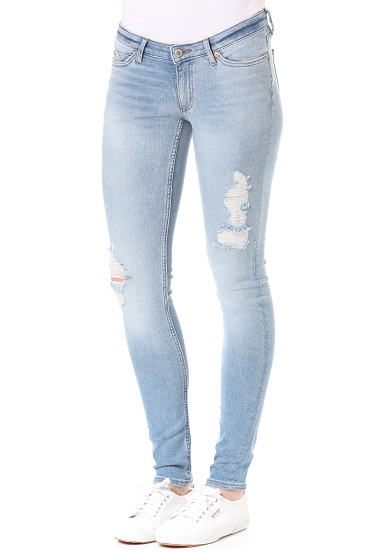 Cheap Monday Slim - Vaqueros para Mujeres - Azul