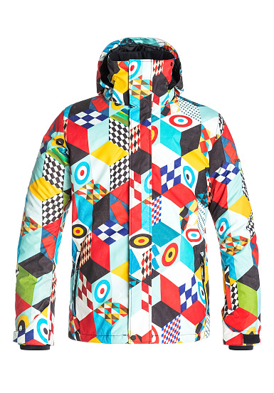 quiksilver ac mission veste de snowboard pour homme multicolore planet sports. Black Bedroom Furniture Sets. Home Design Ideas