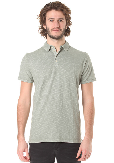 Selected SHHAlfred - Polo para Hombres - Verde