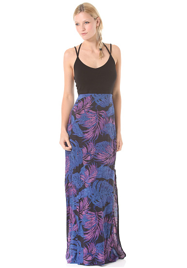 Hurley Ruby Maxi - Dress for Women - Blue - Planet Sports