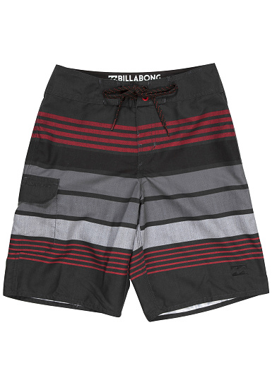 Billabong All Day Stripe 15'' Boardshorts für Jungs Grau