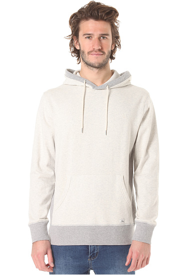 quiksilver essential sweat capuche pour homme blanc planet sports. Black Bedroom Furniture Sets. Home Design Ideas