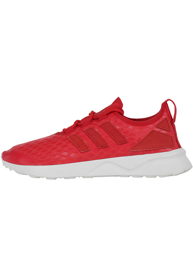 Adidas Zx Flux Red Womens