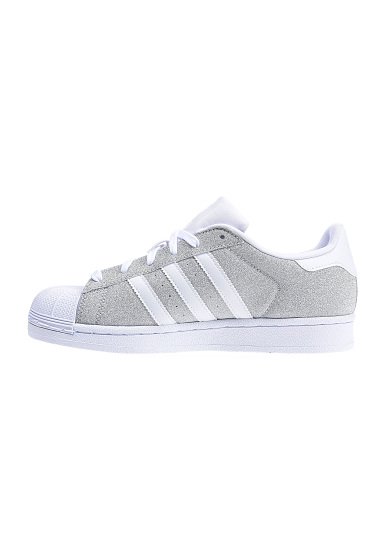 adidas superstar dames zilver wit