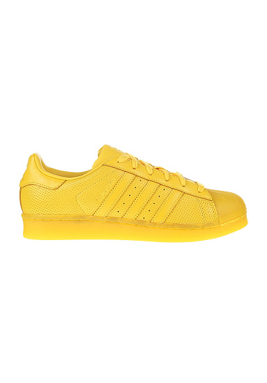 adidas superstar geel dames