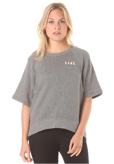 vans numbers up crew strickpullover f r damen grau planet sports. Black Bedroom Furniture Sets. Home Design Ideas