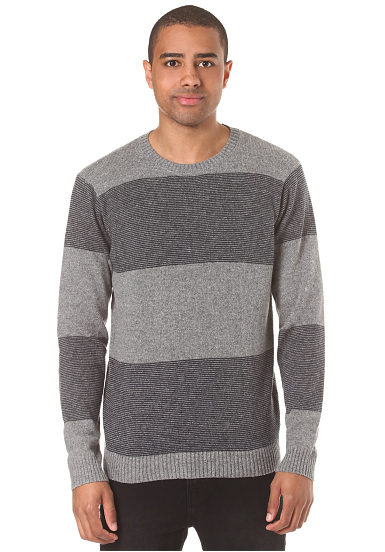 RVCA Channels Crew - Jersey para Hombres - Gris