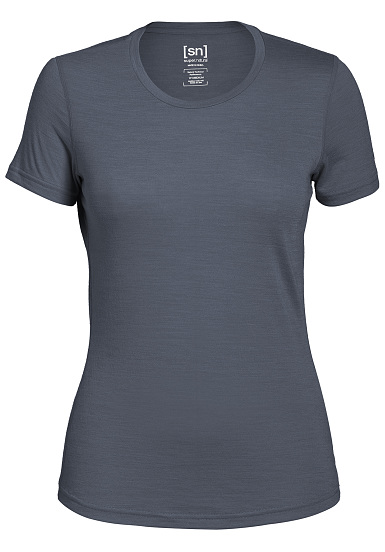 SUPER.NATURAL Base 140 - Camiseta para Mujeres - Gris