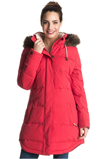 Roxy Ellie - Functional Jacket for Women - Red - Planet Sports