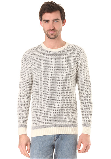Selected Shhpattern - Jersey para Hombres - Beige