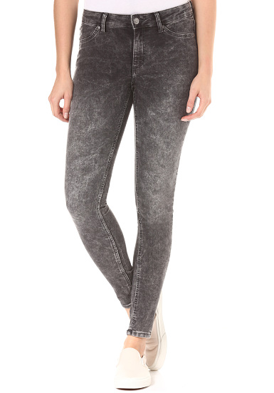 Cheap Monday Mid Spray - Vaqueros para Mujeres - Gris