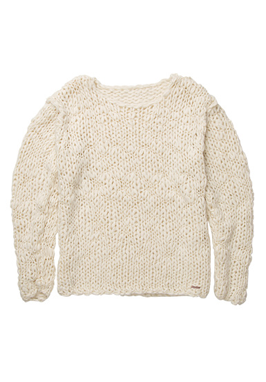 BILLABONG Winter Wish - Jersey para Mujeres - Blanco