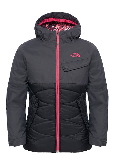 The North Face Carly Insulated Funktionsjacke für Mädchen Grau