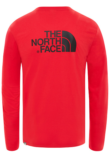 c3e402616b THE NORTH FACE Easy - Long-sleeved Shirt for Men - Red - Planet Sports