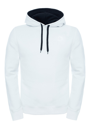 the north face seasonal drew peak sweat capuche pour homme blanc planet sports. Black Bedroom Furniture Sets. Home Design Ideas