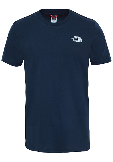 THE NORTH FACE Simple Dome - Camiseta para Hombres - Azul