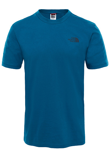 cadcc92c20435 THE NORTH FACE Simple Dome - Camiseta para Hombres - Azul - Planet ...