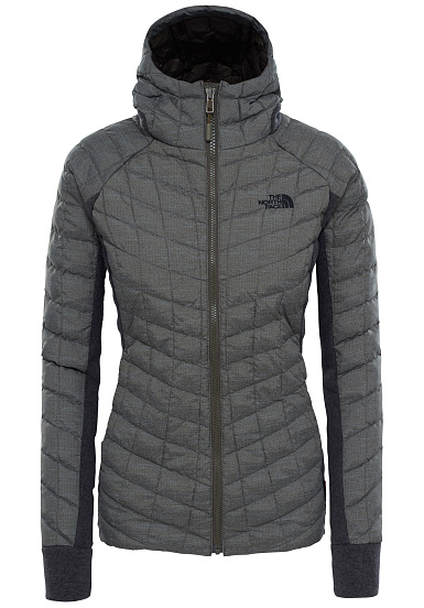 north face thermoball gris