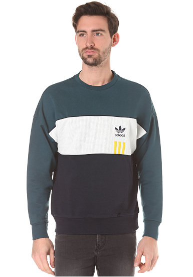 Sweat Pour Id96 Planet Vert Adidas Crew Homme Sports qSawnUUO67