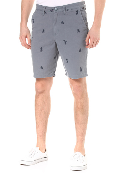 9973361cfa Vans Authentic Monogram - Short pour Homme - Bleu - Planet Sports