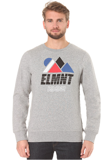 Element Projects Crew - Sudadera para Hombres - Gris