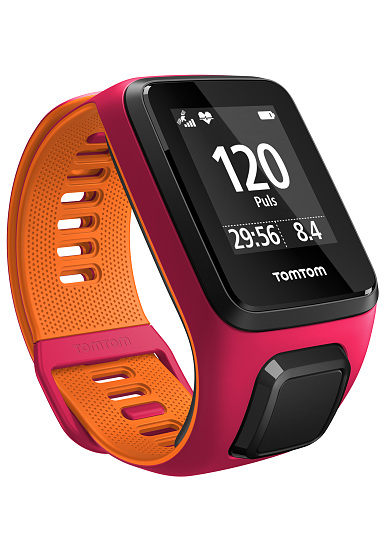 tomtom runner 3 cardio montre rose planet sports. Black Bedroom Furniture Sets. Home Design Ideas