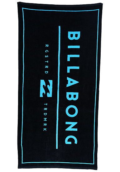 billabong unity towel large serviette de plage pour homme bleu planet sports. Black Bedroom Furniture Sets. Home Design Ideas